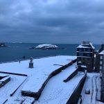 Freddo e neve attanagliano l'Europa: imbiancata la costa della Bretagna, Berlino e Praga piombano a -11°C. Foto e dati meteo