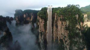 ascensore dei cento draghi
