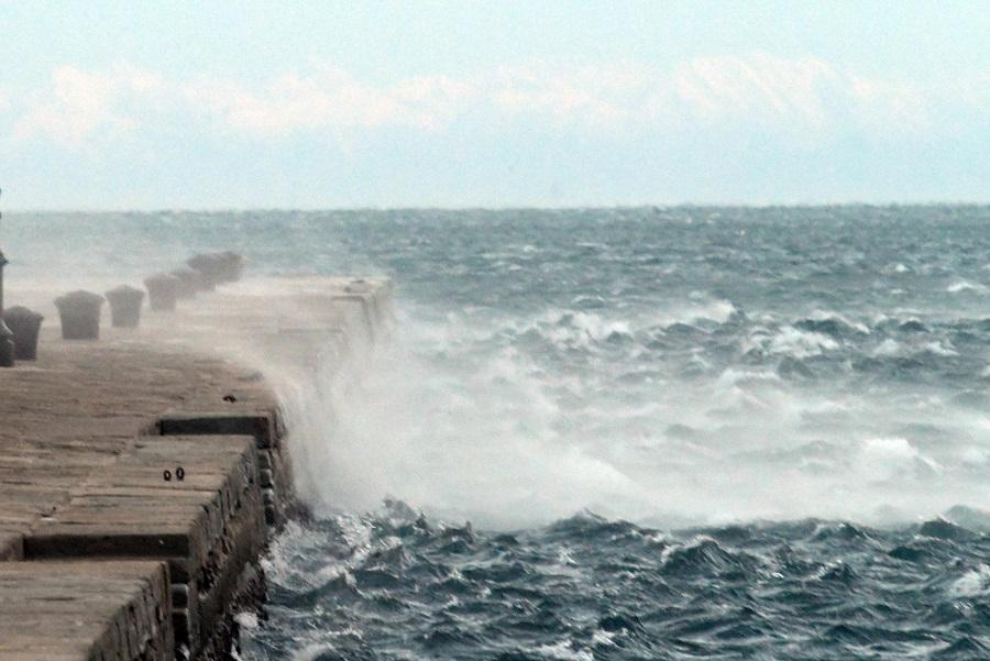 Raffiche di Bora a Trieste