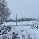 Freddo e maltempo in Molise: prima neve a Campobasso e sui rilievi circostanti [FOTO]