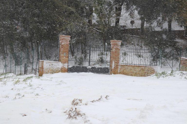 Città della Pieve. Foto Gianluigi Basilietti / Ansa