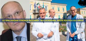 coronavirus ricciardi lockdown spallanzani