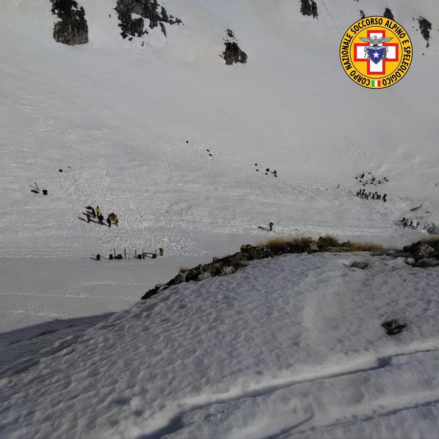 Ricerche dei 4 escursionisti dispersi sul Monte Velino