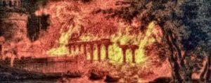 distruzione templi pagani
