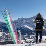 Spettacolo a Cortina: emozionante sorvolo delle Frecce Tricolori sulle Tofane [FOTO e VIDEO]