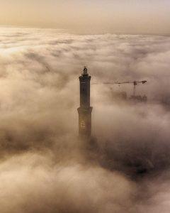genova nebbia 25 febbraio 2021