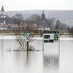 Maltempo, inondazioni in Germania: diversi fiumi hanno rotto gli argini dopo lo scioglimento della neve [FOTO]