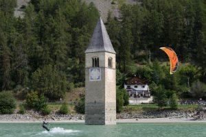 kitesurf lago di resia