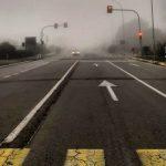 Meteo, improvvisa nebbia in Versilia: da Viareggio a Forte dei Marmi, sembra di essere in Pianura Padana [FOTO e VIDEO]