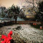 Maltempo Campania, disagi per neve nel Casertano: San Valentino sotto la neve a Caserta [FOTO e VIDEO]