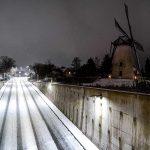 """La tempesta """"Darcy"""" porta la neve nei Paesi Bassi: Eindhoven, Mierlo e Geldrop imbiancate [FOTO]"""