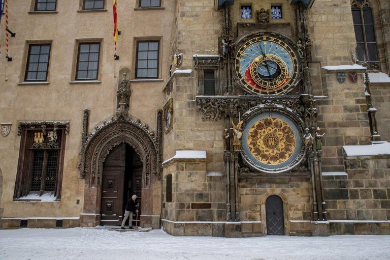 Praga. Foto di Martin Divisek / Ansa