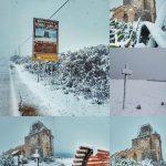 Freddo, Salento glaciale: Porto Cesareo come Tromsø dopo una grande nevicata sulle spiagge joniche della Puglia