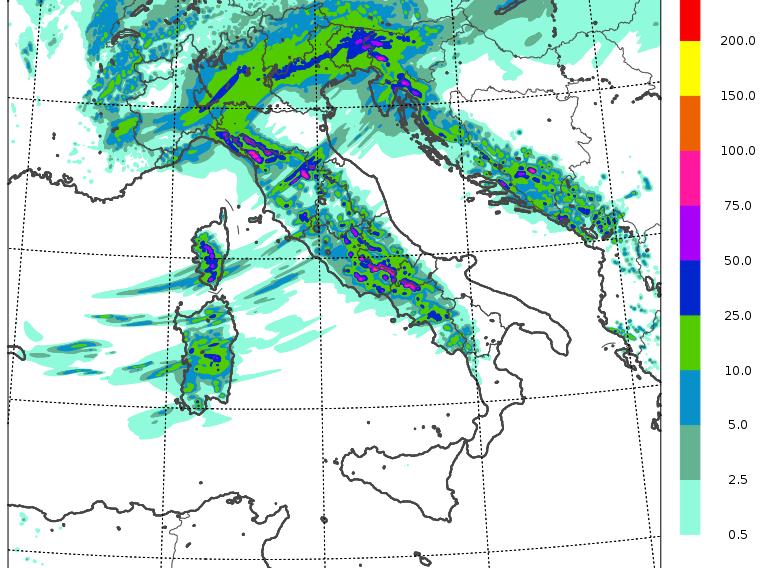 previsioni meteo mercoledì 10 febbraio 2021