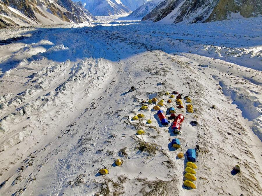 Maltempo, si ferma la prima spedizione invernale al K2