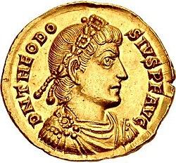 teodosio I moneta