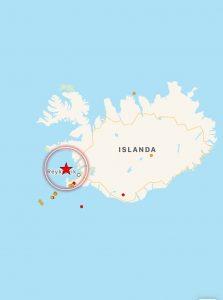 terremoto islanda oggi