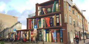 utrecht murales libreria