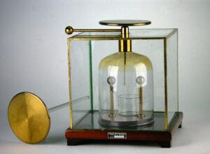 Condensatore di elettricità volta