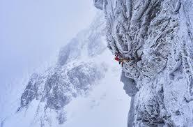 ben nevis arrampicata