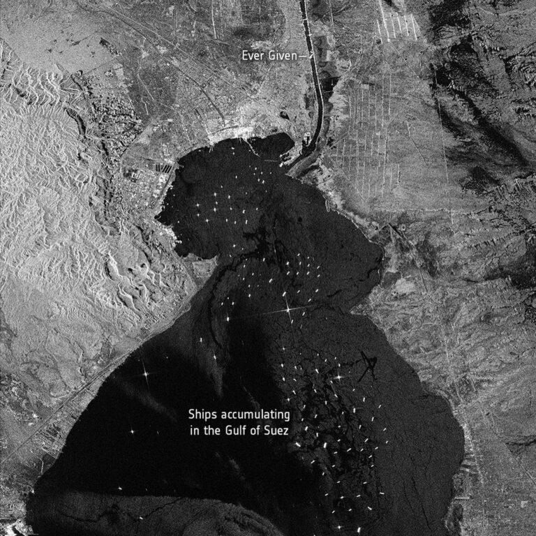 25 marzo 2021. Credits: contains modified Copernicus Sentinel data (2021), processed by ESA, CC BY-SA 3.0 IGO