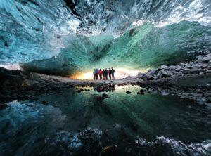 crystal cave Vatnajökull