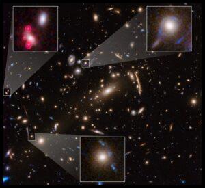 distorsione di galassie