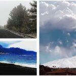 """Dalla Mareneve a Giardini Naxos e Taormina, così il 15° parossismo dell'Etna ha coperto di cenere il versante nord/est del vulcano. Scuole chiuse 3 giorni a Calatabiano, """"è calamità"""" [FOTO e VIDEO]"""
