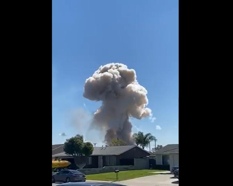 esplosione ontario california