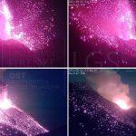 Stromboli, notte di esplosioni ed emissioni: superata soglia di allerta, rilevata deformazione del suolo [FOTO e GRAFICI]
