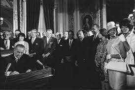 lyndon johnson voting rights act