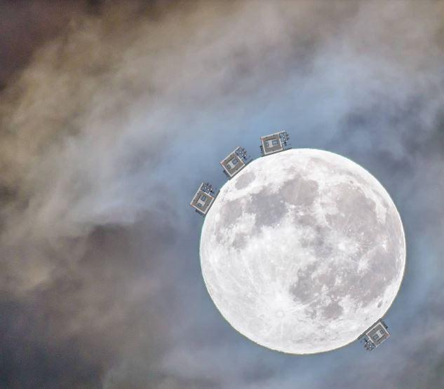 onde gravitazionali luna