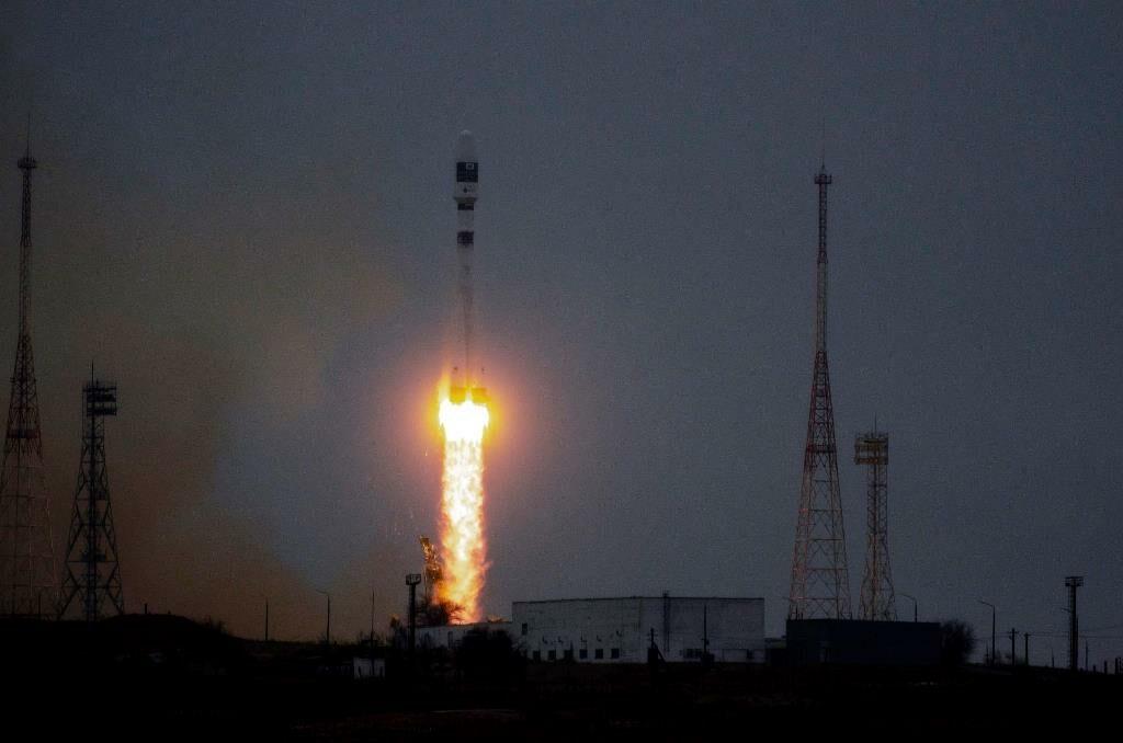 lancio razzo soyuz