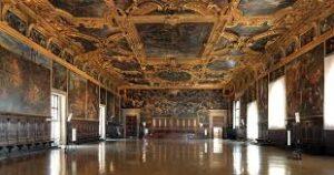 sala degli affreschi palazzo ducale