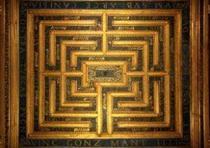 sala labirinto palazzo ducale