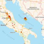 Terremoto nell'Adriatico, oltre 100 scosse in tre giorni: per l'INGV, potrebbe durare mesi o attivarsi una faglia vicina
