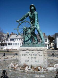 statua pescatori gloucester