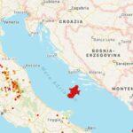 """Forte terremoto nell'Adriatico, INGV: """"Causa del lento ma incessante spostamento della catena dinarica, oltre 30 repliche"""""""