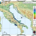 """Forte terremoto nel Mare Adriatico, INGV: """"Risentito al Centro/Sud Italia, area con sismicità molto frequente"""""""