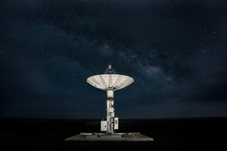 AWS Ground Station Nighttime