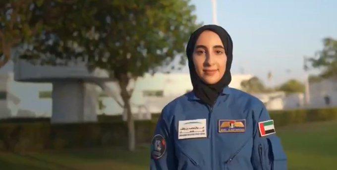 Noura al-Matroushi prima astronauta Emirati