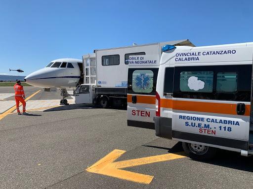 aeronautica trasporto lamezia roma