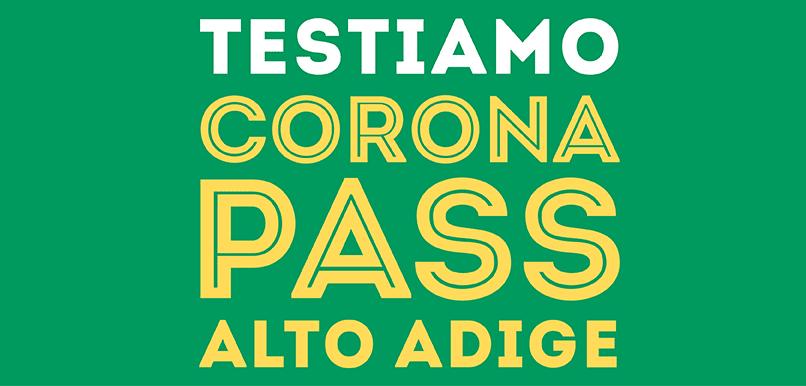 corona pass alto adige