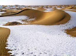 deserto gobi neve