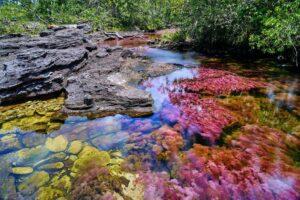 fiume arcobaleno