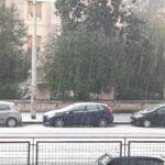 Maltempo Lazio, seconda violenta grandinata a Roma in due giorni: strade imbiancate come fosse neve [FOTO e VIDEO]