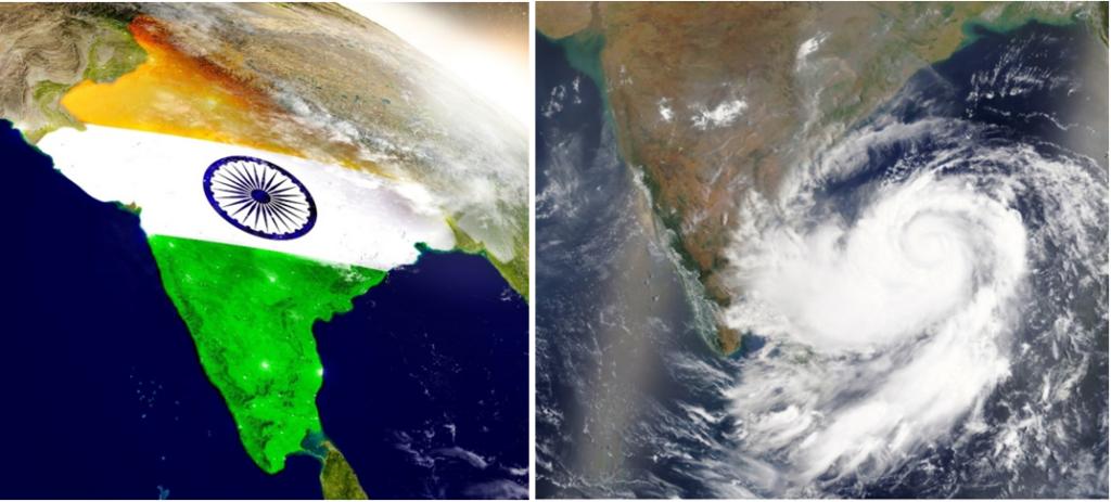 india tifoni stagione delle piogge