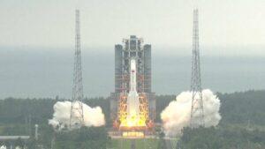 lancio moduli stazione spaziale cina