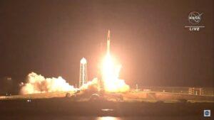 lancio spacex crew 2