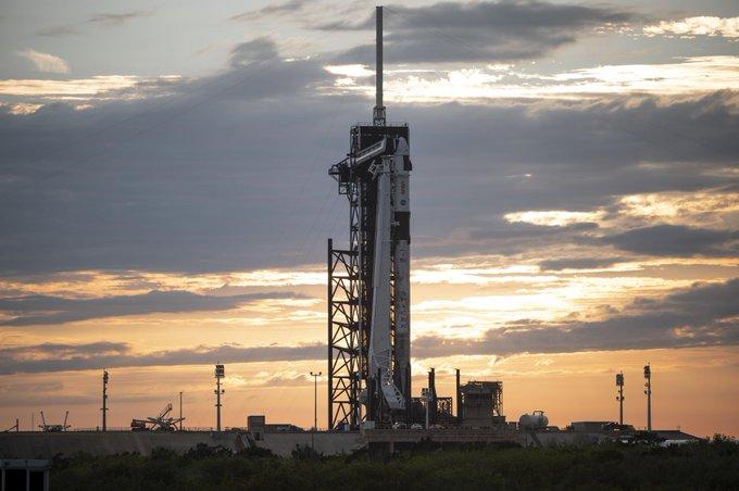 lancio spacex nasa crew 2